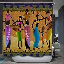 MJDSVWCS Egyptian Curtain For The Bathroom African