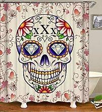 MJHUS Shower curtainSugar Skull Shower Curtains