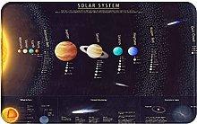 MJIAX Bath Mat Bathroom Rugs,Solar System With