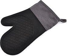 MJJCY Silicone heat insulation gloves high