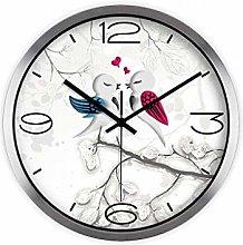 MJK Novelty Wall Clock,12 inch Creative Bird Wall