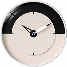 MJK Novelty Wall Clock,12-Inch Silent Round Wall