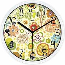 MJK Novelty Wall Clock,12 inch Zoo Cartoon Wall