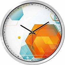 MJK Novelty Wall Clock,12 Inches Mute Wall Clock