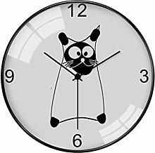MJK Novelty Wall Clock,14 inch Wall Clock - Cute
