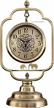MJK Novelty Wall Clock,American Simple Metal Clock