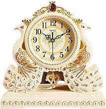 MJK Novelty Wall Clock,European Retro Peacock