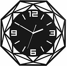 MJK Novelty Wall Clock,Mute Clock, Personalized