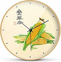 MJK Novelty Wall Clock,Silent Non-Ticking Baery