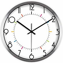 MJK Novelty Wall Clock,Simple and Quiet Wall