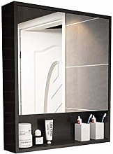 MJK Wall-Mounted Mirror,Mirror Cabinets Solid Wood
