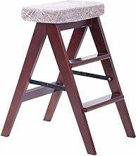 MJL Stepladder Folding 3 Tread Step/Ladder Chair