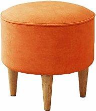 MJMJ Upholstered Footstool Ottoman Foot Stool