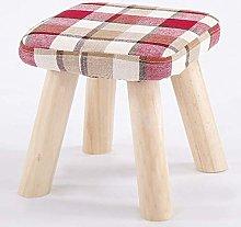 MJMJ Upholstered Footstool Pouf Ottoman Foot