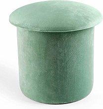 MJMJ Upholstered Footstool Storage Ottoman Chest