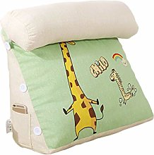 MJTP Comfort Triangle Reading Pillow Stuffed Back