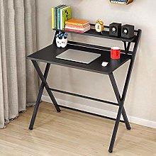 MJY Folding Desk Simple Foldable Table Study Desk
