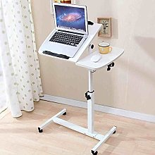 MJY Folding Table Adjustable Laptop Table Sofa