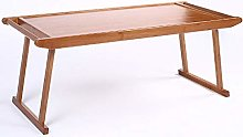 MJY Folding Table Bamboo Art, Low Table, Retro