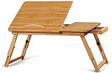 MJY Folding Table Portable, Laptop Table, Study