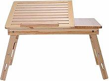 MJY Laptop Desk Bed with Desk Folding Simple Home