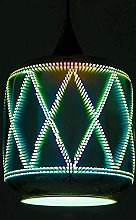 MKKM 3D Glass Fireworks Art Led Lighting Pendant