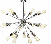 MKKM 9 Lights Sputnik Chandelier Contemporary,E27