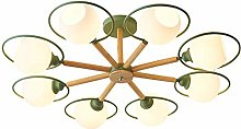 MKKM Button Chandelier Lighting Modern Pendant