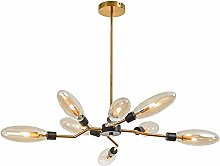 MKKM G9 Glass Bubble Chandelier Lighting Spider