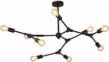 MKKM Modern Sputnik Chandelier Light,Adjustable