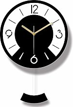 MKKM Novelty Home Wall Clock, Creative Round,