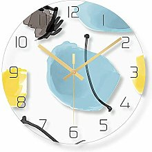 MKKM Novelty Home Wall Clock, Glass Material, Wall