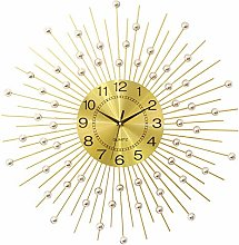 MKKM Novelty Home Wall Clock, Wrought Iron