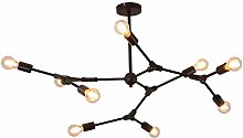 MKKM Sputnik E27 Chandelier Lighting Fixture,6