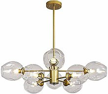 MKKM Sputnik Glass Chandelier Lighting 6