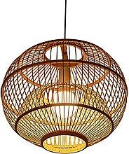MKKM Style Bamboo Lamp Pendant Light Creative