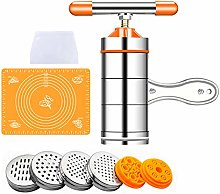 MKNZONE Stainless Steel Pasta Noodle Maker, Fresh