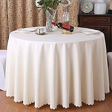 MKWEY Tablecloth Round 280cm, Table Cloths for