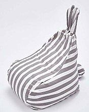 MKXF Cute Bunny Ears Children Lazy Sofa Bean Bag