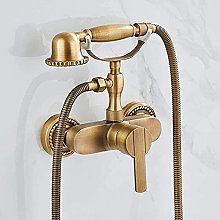MLFPDXC-Vintage Retro Household Brass Telephone