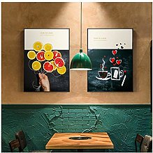 Mmdianpu Home Decor Pictures Wall Art Fruits Vases