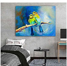 Mmdianpu Picture - Print Oil Painting Animal Bird