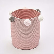 MMHJS Cotton Rope Woven Dirty Clothes Storage