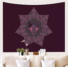 MMHJS Ethnic Style Holiday Decoration Tapestry