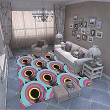 MMHJS European Fashion Geometric Rectangular Floor