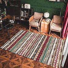 MMHJS European Retro Ethnic Style Floor Mats