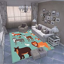 MMHJS European Style Simple Ethnic Animal Print