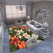 MMHJS European Style Simple Flower Plant Printing