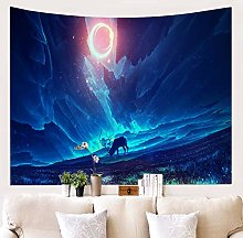 MMHJS Holiday Decoration Towel Tapestry Starry