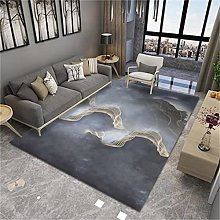 MMHJS Nordic Printing Stitching Carpet Rectangular